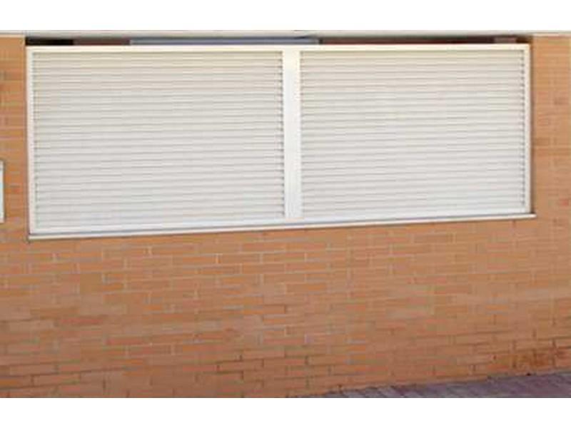 p aluminio 003 - Puertas de aluminio soldado