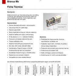 FICHA TECNICA BRAVUS MX-001