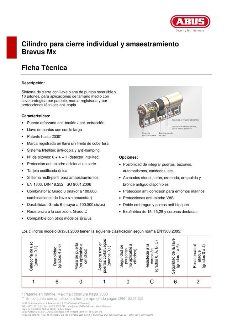 FICHA TECNICA BRAVUS MX 001 724x1024 - BOMBILLOS DE SEGURIDAD