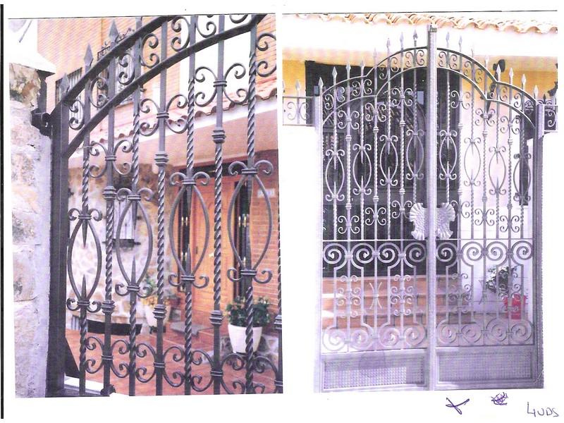 OPERA - Puertas de forja