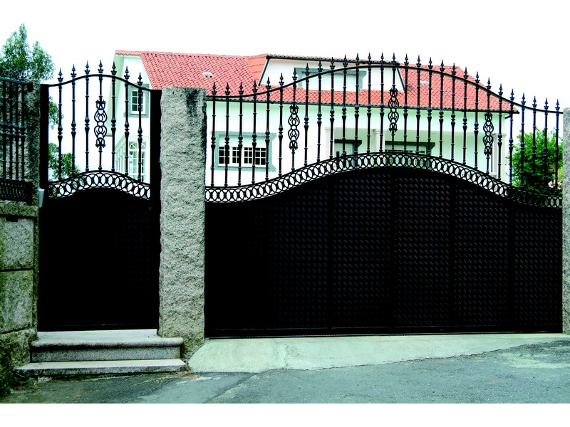 aluminio portales catalogo 192 - Puertas de aluminio soldado