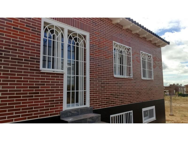 puerta 3 arcos pds grande sin cuadradillos laterales - Rejas estilo inglés