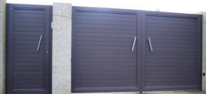 modelo lineal1 300x137 - PUERTAS EN ALUMINIO SOLDADO